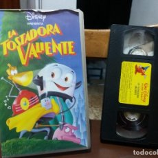 Cine: CINTA VIDEO CASSETTE DIBUJOS ANIMADOS LA TOSTADORA VALIENTE DISNEY . Lote 116612935