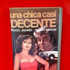 Cine: UNA CHICA CASI DECENTE (1971) - MUY RARA INEDITA ROCIO JURADO. Lote 116625031