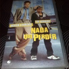 Cine: NADA QUE PERDER - MARTIN LAWRENCE TIM ROBBINS - VHS ORIGINAL. Lote 116658379