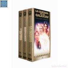 Cine: TRILOGIA STAR WARS / EPISODIOS IV, V, VI / TWENTY CENTURY FOX 1977, 1980, 1983 / PELÍCULA VHS 1997. Lote 94450434