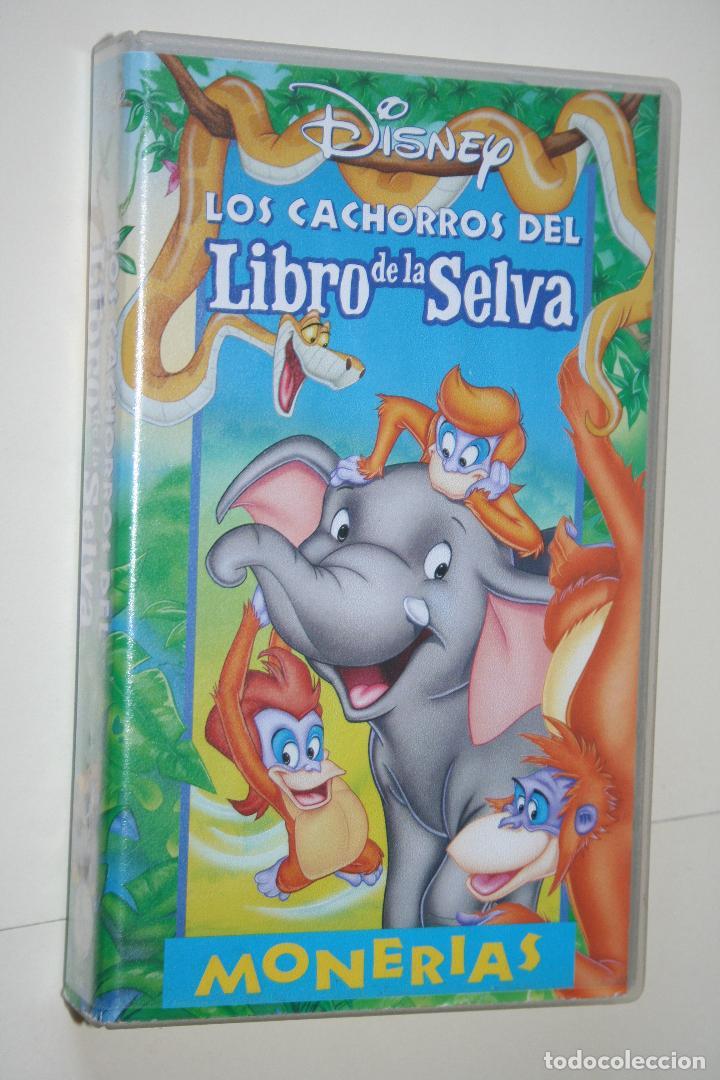 Los Cachorros Del Libro De La Selva Vhs In Vendido En Venta Directa 116773103