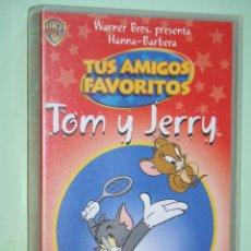 Cine: TOM Y JERRY *** VHS INFANTIL LOONEY TUNES *** WARNER BROS. Lote 116811543