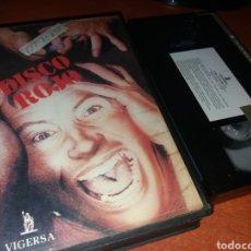 Cine: DISCO ROJO- VHS- 1973- PAUL NASCHY- DESCATALOGADA. Lote 116872182
