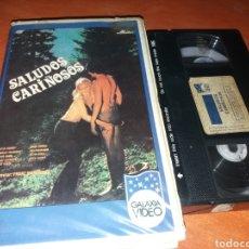 Cine: SALUDOS CARIÑOSOS- VHS- CLASIFICADO S- FRANZ MARISCHKA- UNICO. Lote 116873542