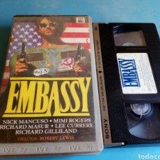 Cine: VHS- EMBASSY, ORIGINAL VIDEOCLUB AÑOS 80. Lote 117024990