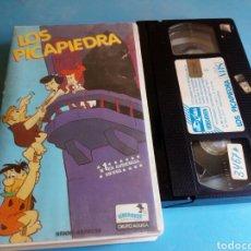 Cine: VHS- LOS PICAPIEDRA DIBUJOS, ORIGINAL VIDEOCLUB. Lote 117030662