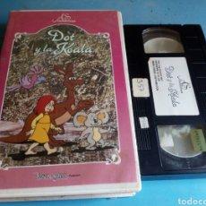 Cine: VHS- DOT Y LA KOALA ,ORIGINAL VIDEOCLUB. Lote 117031636