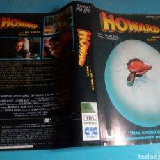 Cine: VHS- ( SOLO CARÁTULA) HOWARD ORIGINAL VIDEOCLUB. Lote 117036888