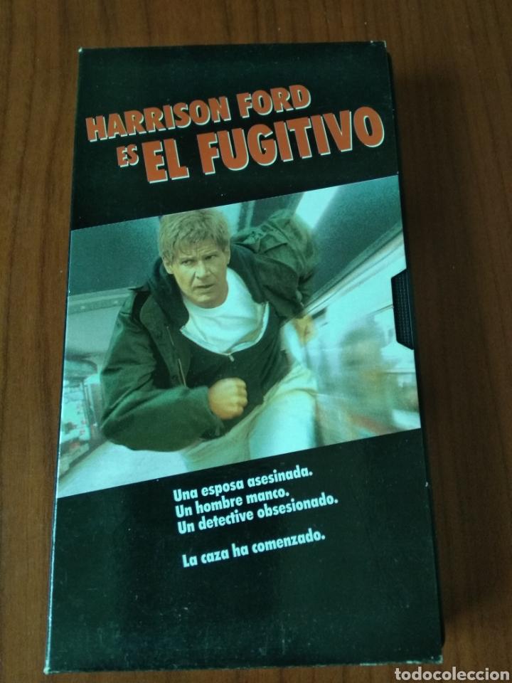 VHS EL FUGITIVO. HARRISON FORD. (Cine - Películas - VHS)