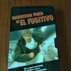 Cine: VHS EL FUGITIVO. HARRISON FORD.. Lote 117131248
