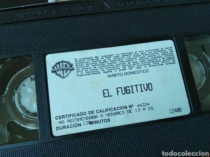 Cine: Vhs el fugitivo. Harrison Ford. - Foto 3 - 117131248