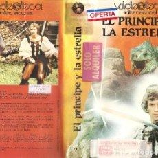 Cine: EL PRINCIPE Y LA ESTRELLA - COMEDIA AVENTURA. UNICA EN TC REGALO MONTAJE. Lote 117158935