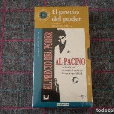 Cine: VHS VIDEO PELICULA EL PRECIO DEL PODER. NUEVA, PRECINTADA. COLECCIÓN DE EL MUNDO.. Lote 117295339
