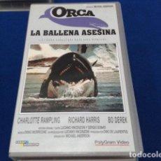 Cine: VHS ( ORCA LA BALLENA ASESINA ) 1997 POLIGRAM MANGA. Lote 117315507
