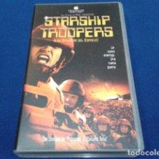 Cine: VHS ( STARSHIP TROOPERS - LAS BRIGADAS DEL ESPACIO ) 1998 TOUCHSTONE. Lote 117318795