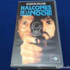 Cine: VHS SYLVESTER STALLONE ( HALCONES DE LA NOCHE ) 1981 UNIVERSAL. Lote 148243216