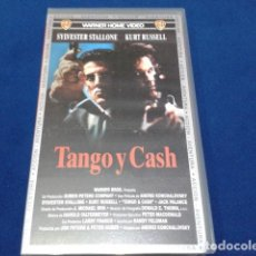Cine: VHS SYLVESTER STALLONE ( TANGO Y CASH ) 1993 WARNER. Lote 148243230