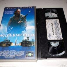 Cine: VHS- WATERWORLD- KEVIN COSTNER. Lote 117620983