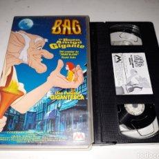 Cine: VHS- BAG EL BUEN AMIGO GIGANTE. Lote 117626144