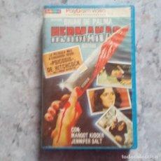Cine: HERMANAS - BRIAN DE PALMA. VHS. BUEN ESTADO.. Lote 117654607