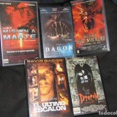 Cine: LOTE 5 CINTAS VHS CLASICAS. Lote 117873727