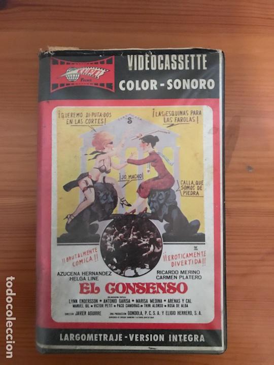 EL CONSENSO / JAVIER AGUIRRE AZUZENA HERNANDEZ (Cine - Películas - VHS)