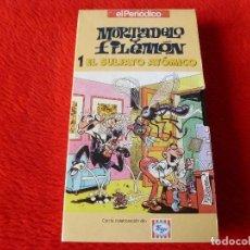 Cine: (XM)VHS-COLECCIÓN MORTADELO Y FILEMÓN EDICIÓN EL PERIODICO,LOS 22 EJEMPLARES(DEL 1 AL 22) . Lote 118177907
