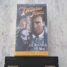 Cine: LAS AVENTURAS DEL JOVEN INDIANA JONES. LOS ROSTROS DEL MAL. CAPITULO 17.. Lote 118282775