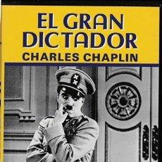 Cine: PELICULA - EL GRAN DICTADOR - CHARLES CHAPLIN - CINTA VIDEO - . Lote 118407627