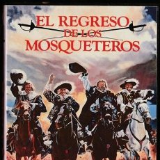 Cine: PELICULA - EL REGRESO DE LOS MOSQUETEROS - FILM DE RICHARD LESTER - CINTA VIDEO - . Lote 118407815
