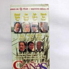 Cine: VHS - MINI SERIE COMPLETA - CAÑAS Y BARRO - JOSÉ BÓDALO, VICTORIA VERA, RAFAEL ROMERO MARCHENT. Lote 118579059