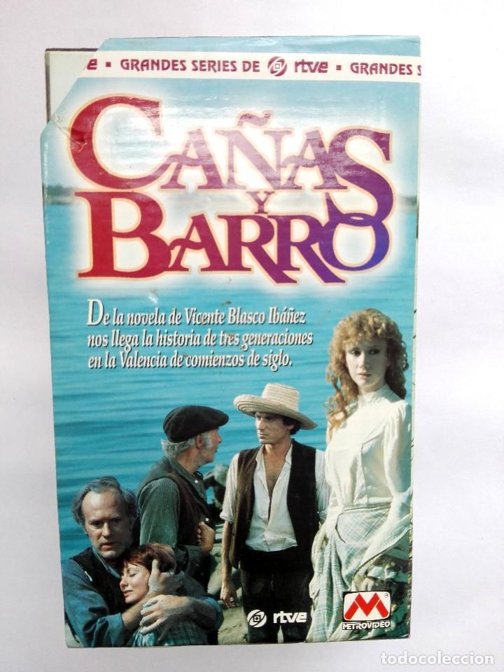 Cine: VHS - MINI SERIE COMPLETA - CAÑAS Y BARRO - José Bódalo, Victoria Vera, Rafael Romero Marchent - Foto 2 - 118579059