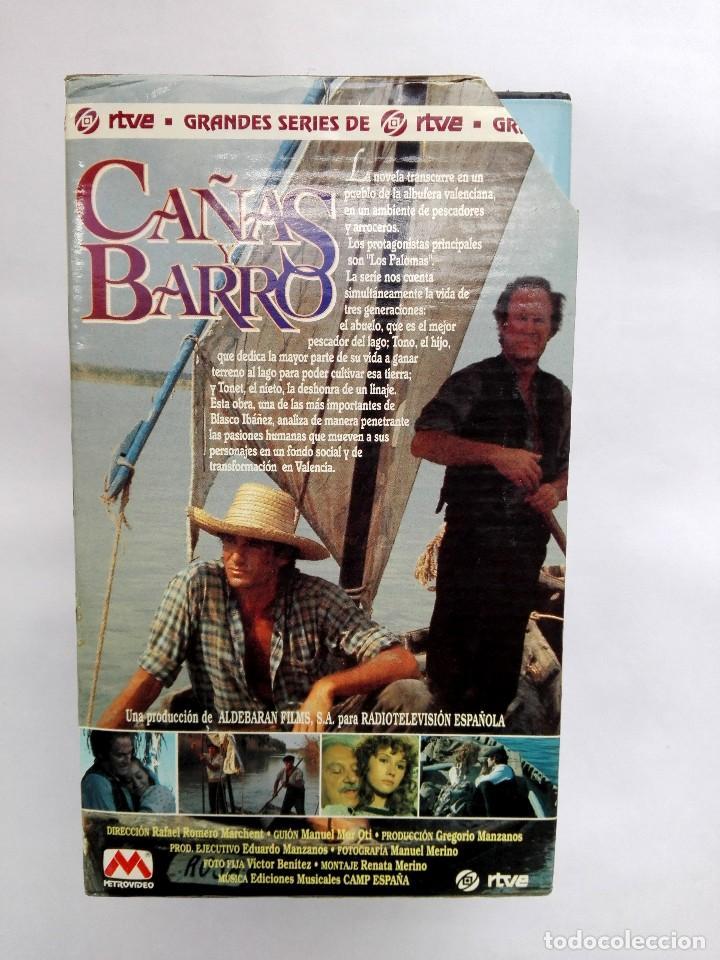 Cine: VHS - MINI SERIE COMPLETA - CAÑAS Y BARRO - José Bódalo, Victoria Vera, Rafael Romero Marchent - Foto 3 - 118579059
