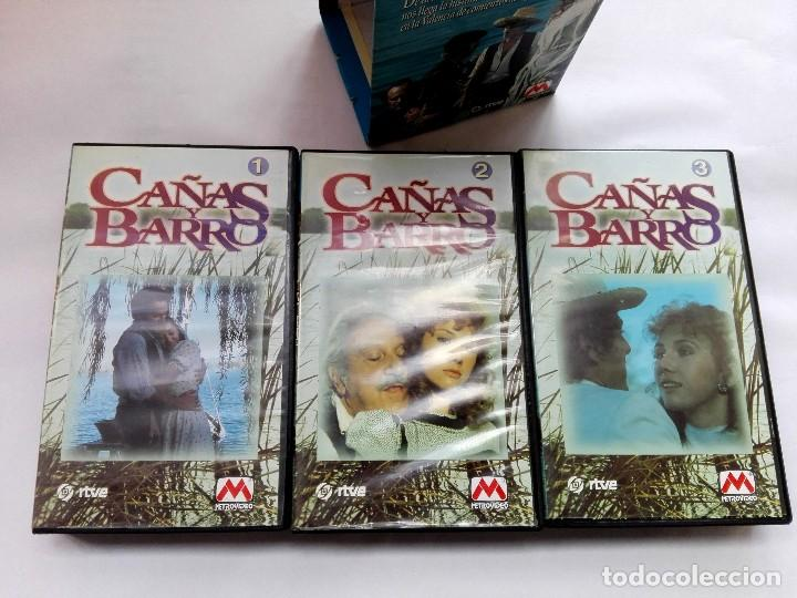 Cine: VHS - MINI SERIE COMPLETA - CAÑAS Y BARRO - José Bódalo, Victoria Vera, Rafael Romero Marchent - Foto 6 - 118579059