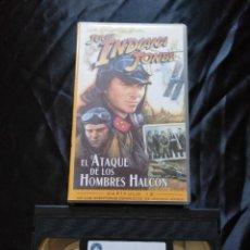 Cine: LAS AVENTURAS DEL JOVEN INDIANA JONES. EL ATAQUE DE LOS HOMBRES HALCON.. Lote 229467150
