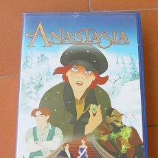 Cine: VHS DE DIBUJOS ANASTASIA...SANNA. Lote 118882343