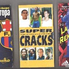 Cine: 3 VIDEOS VHS NUEVOS. BARCELONA FC. BARÇA. Lote 118950615