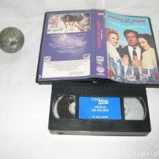 Cine: ARMAS DE MUJER VHS. Lote 118973539
