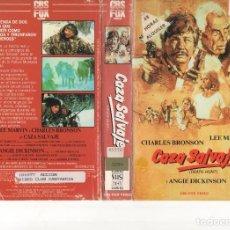 Cine: VHS - CAZA SALVAJE - CHARLES BRONSON, LEE MARVIN. Lote 119066695
