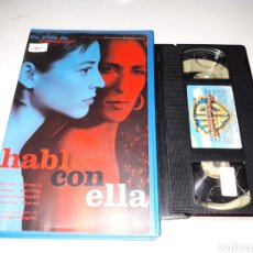 Cine: VHS- HABLE CON ELLA- PEDRO ALMODOVAR ROSARIO FLORES- EDICION VIDEOCLUB. Lote 119179967