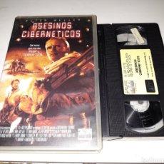 Cine: VHS- ASESINOS CIBERNETICOS- PETER WELLER. Lote 119184176