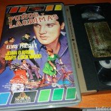 Cine: PUÑOS Y LAGRIMAS- VHS- ELVIS PRESLEY. Lote 119307034