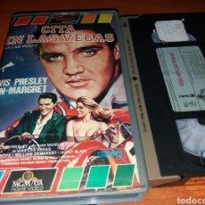 Cine: CITA EN LAS VEGAS- VHS- ELVIS PRESLEY- ANN MARGRET. Lote 119307114