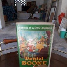 Cine: DANIEL BOONE VHS HANNA BARBERA VIDEOJOVEN. Lote 119502966