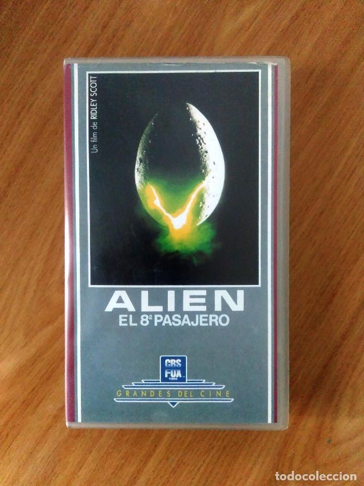 ALIEN- RIDLEY SCOTT- ED CBS FOX - EN SU CAJA ORIGINAL (Cine - Películas - VHS)