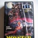 Cine: MONSTER DOG (LEVIATÁN) • VHS (CAJA GRANDE) RARA. Lote 119881635