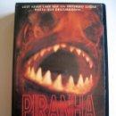 Cine: PIRANHA (PIRAÑA 1995) • VHS (CAJA GRANDE) RARA. Lote 119972451