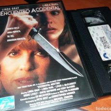 Cine: ENCUENTRO ACCIDENTAL- VHS- DIR: MICHAEL ZINBERG- UNICA EN TC. Lote 119990194
