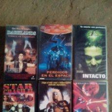 Cine: VHS GORE ,CIENCIA FICCION,ALIENATOR,THE ULTIMATE TERMINATOR. Lote 119999895
