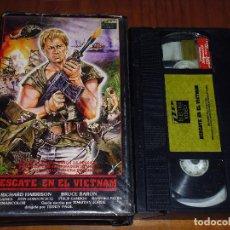 Cine: RESCATE EN EL VIETNAM - RICHARD HARRISON - VHS. Lote 120027015